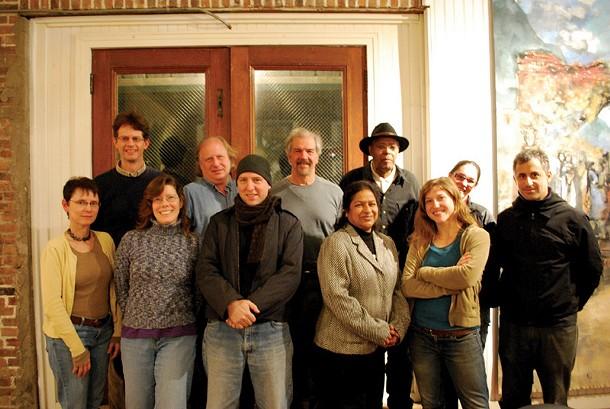 The WGXC Council, (front row): Debra Kamecke, Kathleen Packard, Tom Roe, Hosneara Kader, Kaya Weidman, Max Goldfarb;(back row) Andrew Turner, Paul Smart, Hudson Talbott, Alan Skerett, Dharma Dailey. - GALEN JOSEPH-HUNTER