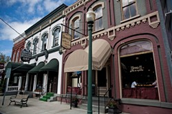 The White House restaurant and bar, and Eleven-11 Restaurant on Main Street in the Village of fishkill. - NATALIE KEYSSAR