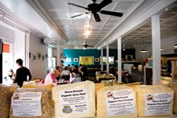 The Wild Hive Farm Store is part cafe, part bakery, and part purveyor of locally made foodstuffs and products. - JENNIFER MAY