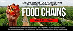 The Woodstock Film Festival Presents Food Chains