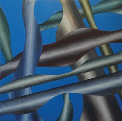 Threads of Remembrance, oil on canvas, 2008