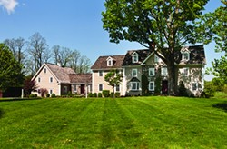 Through the course of a six-year renovation the Hopfenspirgers transformed Lang Syne from a 1930s Dutch Colonial into a home more indicative of 18th-century Hudson Valley architecture. - DEBORAH DEGRAFFENREID