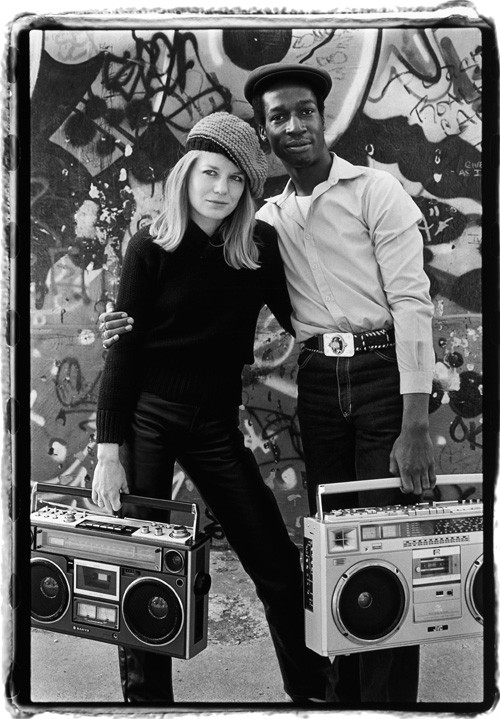 Tina Weymouth and Grandmaster Flash, New York City, 1981