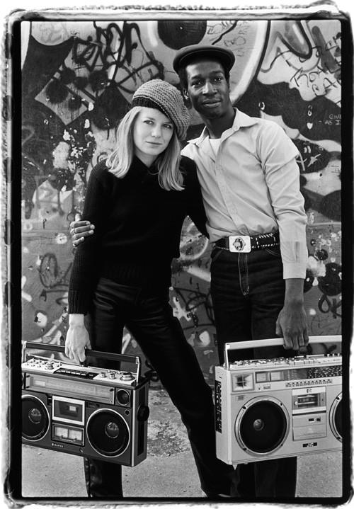Tina Weymouth and Grandmaster Flash, New York City, 1981