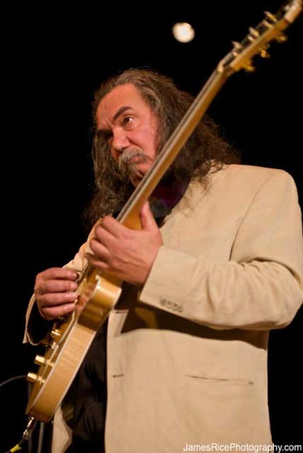 Tisziji Munoz performs at the Falcon with John Medeski on February 15. - JIM RICE