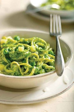 Trenette al pesto from Italian Cooking at Home.