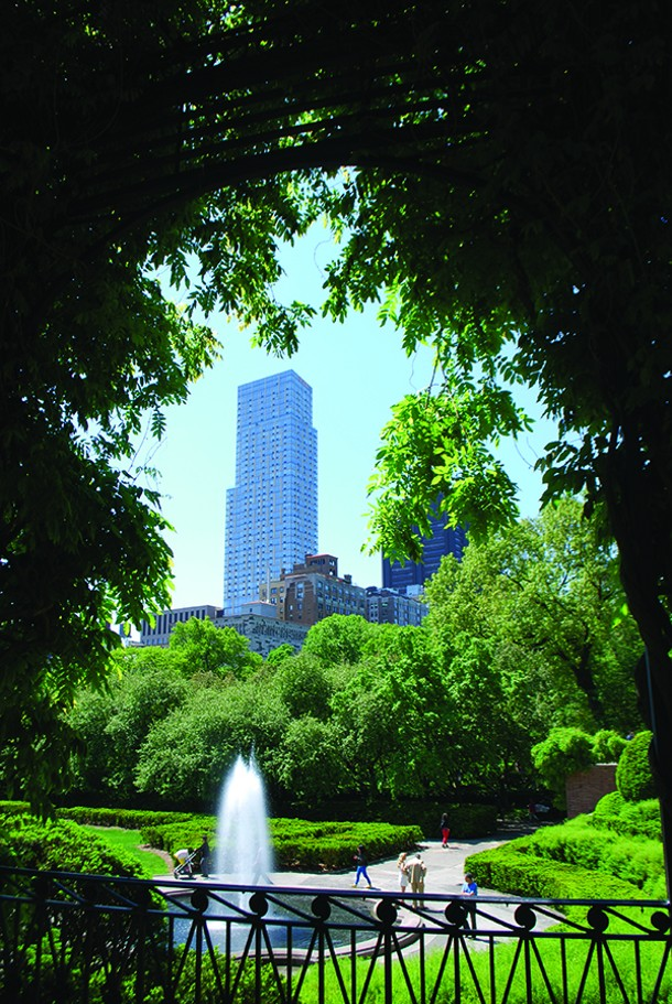 The Conservatory Garden within Central Park. - LARRY DECKER