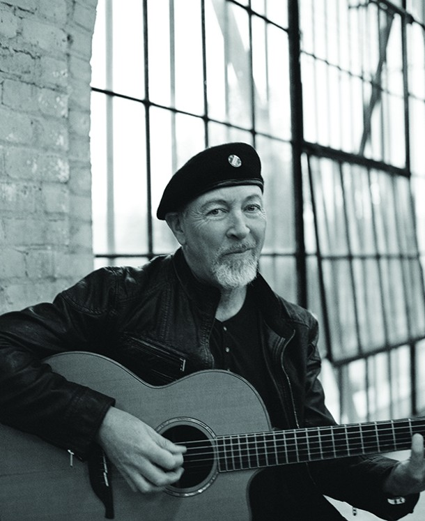 Richard Thompson plays a solo acoustic show at the Bearsville Theater on July 10. - PAMELA LITTKY