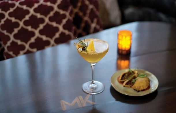 The Westchester Whiskey Sour from Madison Kitchen in Larchmont.
