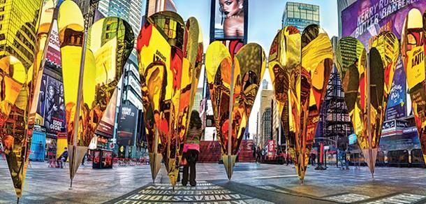 Michael Tischler's Times Square Gold