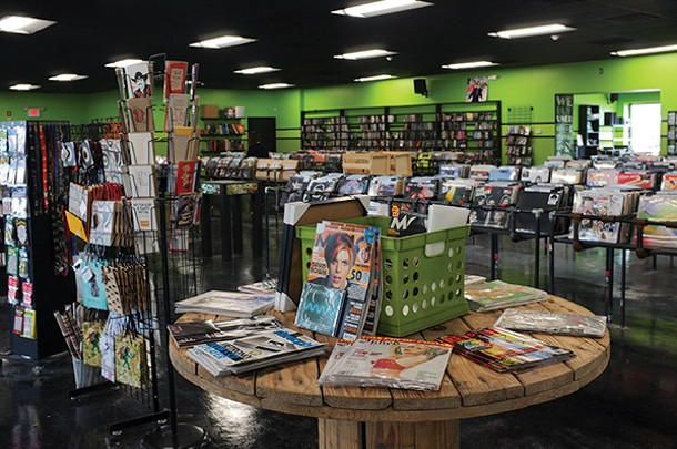 The new Darkside Records location encompasses 9,000 square feet. - FIONN REILLY