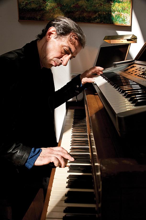 A 1930s Hardman Peck piano is among the instruments in the couple's home. - DEBORAH DEGRAFFENREID