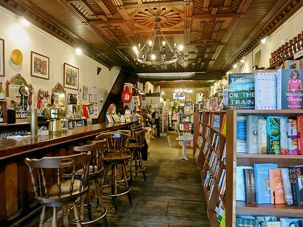 The Spotty Dog Books & Ale in Hudson