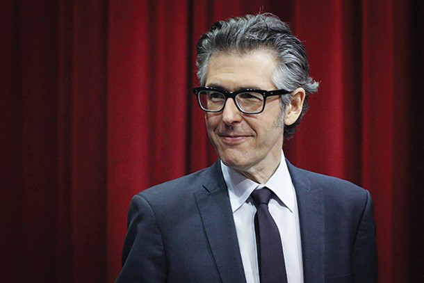 """This American Life"" host Ira Glass appears at UPAC in Kingston on May 21. - JESSE MICHENER"