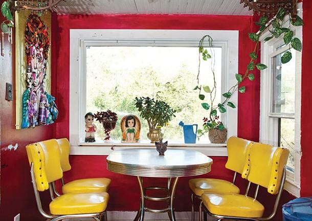 The dining nook. - DEBORAH DEGRAFFENREID