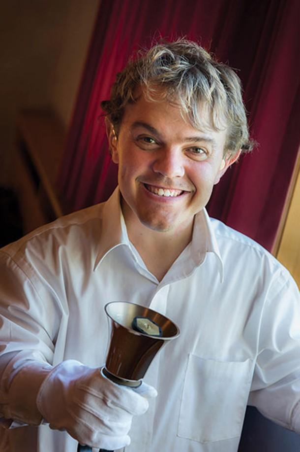 Ben, a farmer and member of the Triform Bell Choir - MARC BRYAN-BROWN