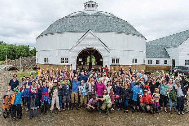 The Triform community at the Church Town dairy, managed by the Triform community