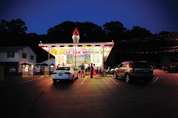 The Jolly Cow Drive-In in Lake Katrine. - ROY GUMPEL