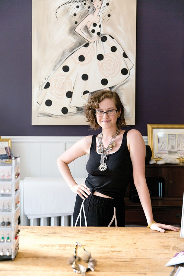 Juda Leah Atelier and Boutique in Saugerties - EVA DEITCH