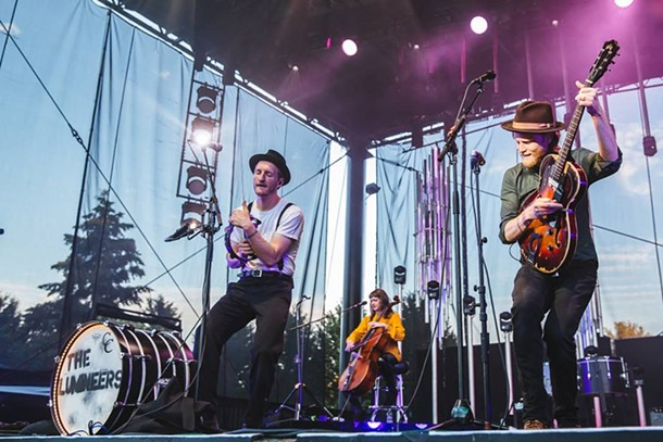 Lumineers will headline the second annual Speed of Sound Festival