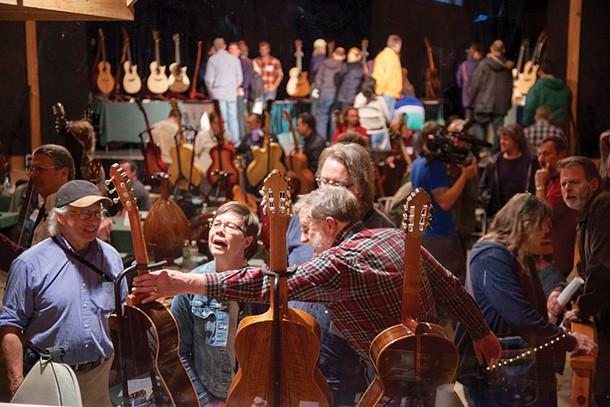 Woodstock Invitational Luthier's Showcase