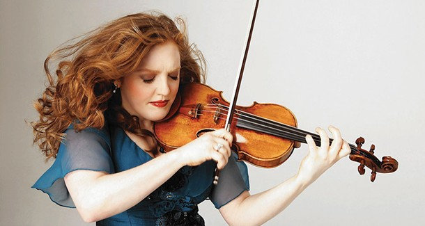 Rachel Barton Pine is the featured violinist with the Hudson Valley Philharmonic on October 8.