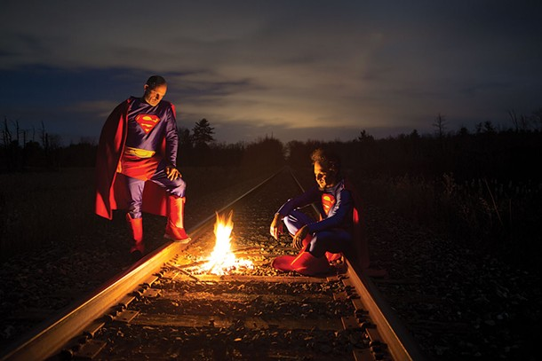 Hobo Supermen , Tim Davis, Photograph, 2016