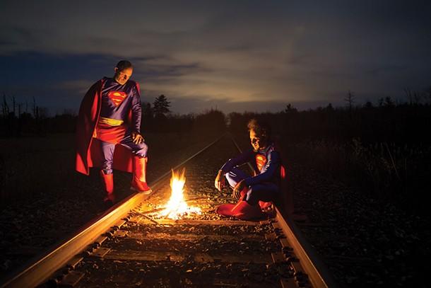 Hobo Supermen , Tim Davis, Photograph, 2016