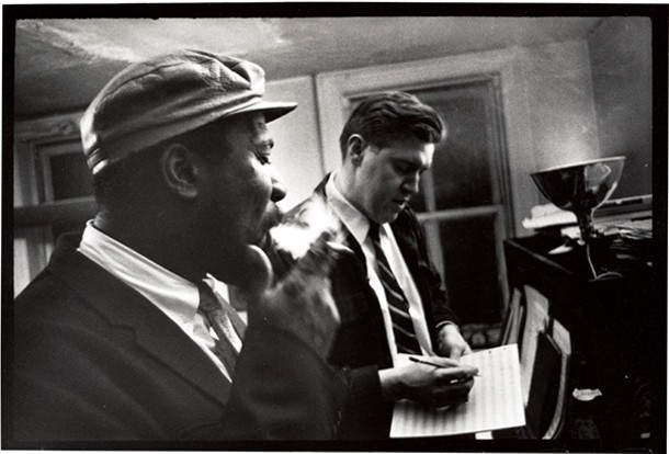 Thelonious Monk and Hall Overton, 1959
