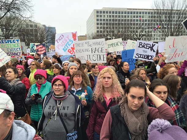 The Women's March on Washington - JOHN GARAY