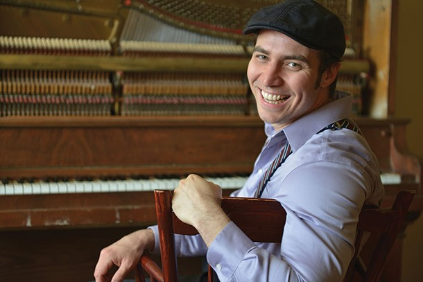 Arthur Migliazza performs at SPAF in Saugerties on March 4.