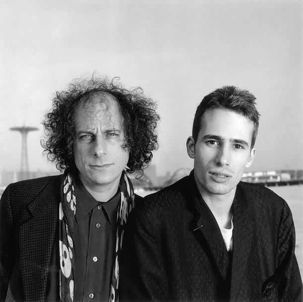Gary Lucas and Jeff Buckley, circa 1992.