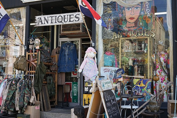 Cold Spring Antiques Center on Main Street - JOHN GARAY