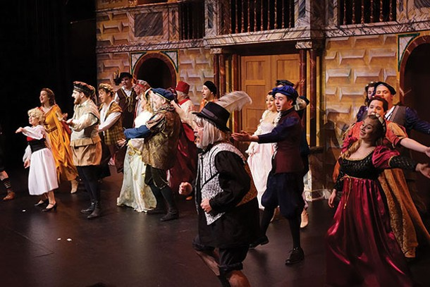 """The Center for Performing Arts at Rhinebeck's production of """"Kiss Me Kate"""" - JOHN GARAY"""
