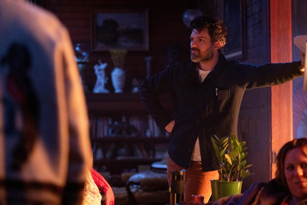 """Behind the scenes on """"Werewolves Within,"""" filmmaker Josh Ruben's second feature, currently under production. - SABRINA LANTOS"""