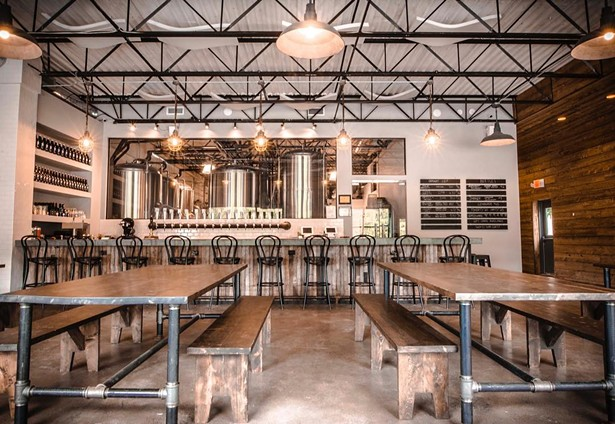 The Tap Room At Woodstock Brewing