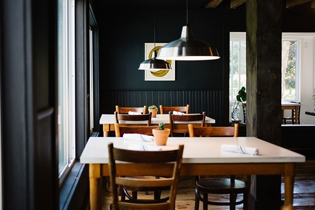 Trotwood restaurant at Glen Falls House is open for takeout dinner (Thursday-Sunday, 5-8pm) and brunch (Saturday-Sunday 8am-3pm) - PHOTO: NONI BRUECKNER