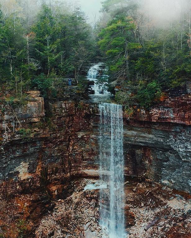 Stony Kill Falls - PHOTO BY IAN POLEY
