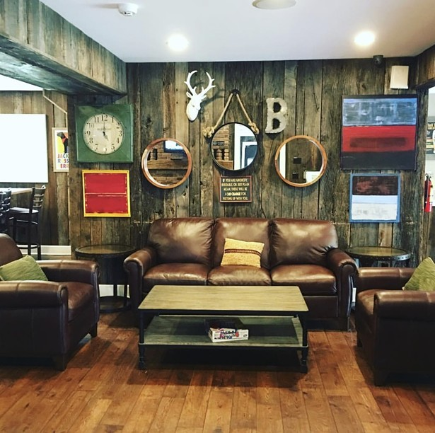The comfortable inside of Brew in Rock Hill. Brew has been a fan favorite of Rock Hill for years. - BREW