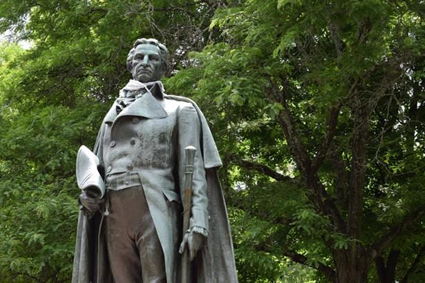 Governor George Clinton was a slaveowner. - FRANCES CATHRYN