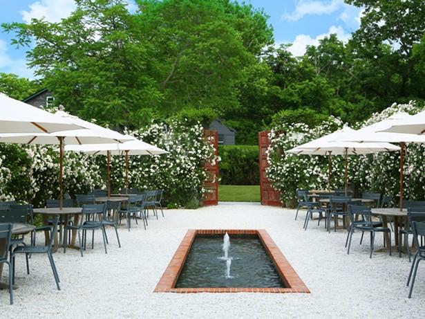 The Rose Garden at Valley Rock Inn.
