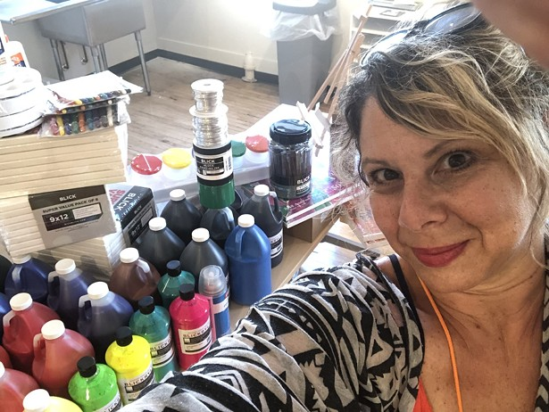 Supportive Arts Instructor Jillian Rahm