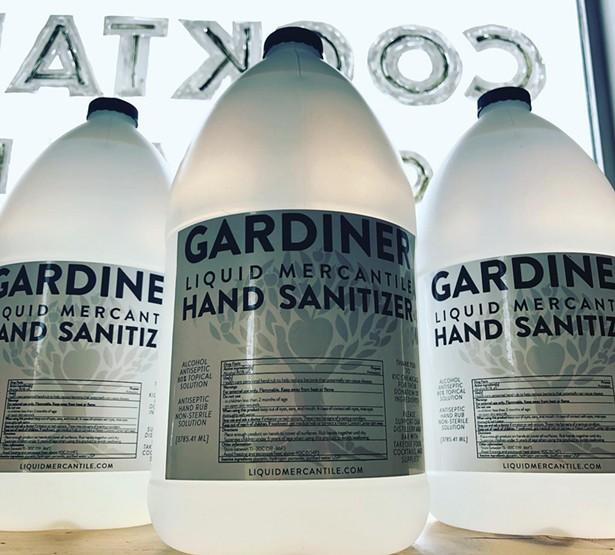 Gardiner Liquid Mercantile hand sanitizer