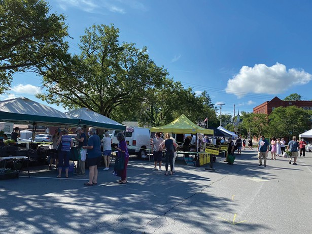 Warwick Valley Farmers' Market - PHOTO: BEA ARNER/WARWICK VALLEY CHAMBER OF COMMERCE