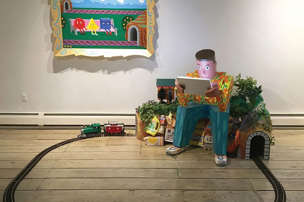 Joe and the Landfill, Rodney Alan Greenblat - PHOTO BY ALON KOPPEL