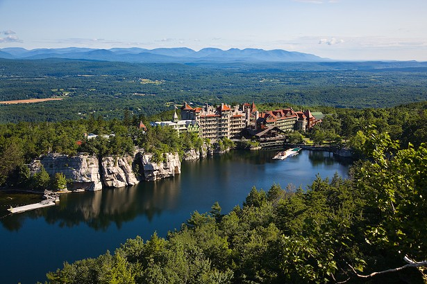 PHOTO COURTESY OF MOHONK MOUNTAIN HOUSE