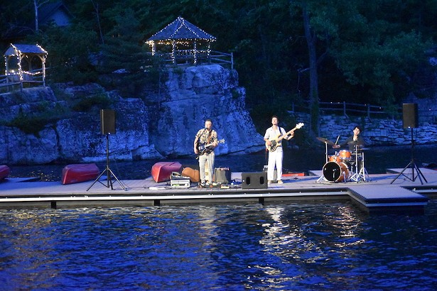 Boat dock concert on Lake Mohonk - PHOTO COURTESY OF MARTIN BEND