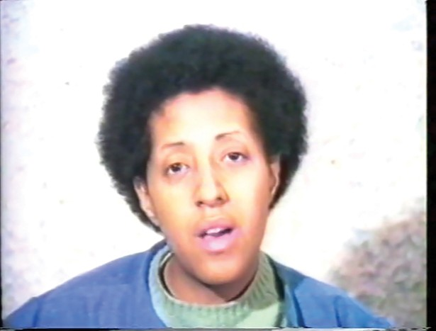 Howardena Pindell, still from Free, White and 21.