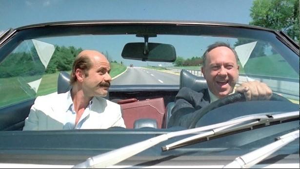 "Zach Norman and Allen Garfield in ""Chief Zabu."""