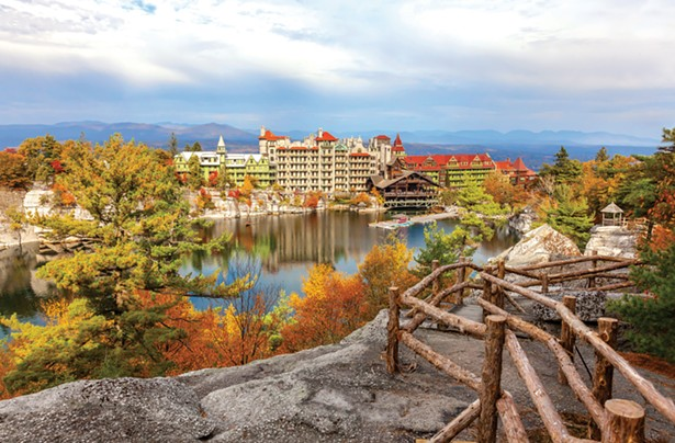 ALL IMAGES COURTESY MOHONK MOUNTAIN HOUSE